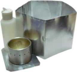 aluminum bottle alcohol stove instructions